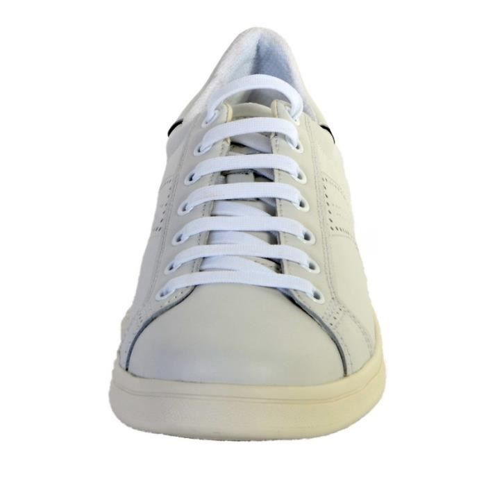 Baskets Geox Warrens U620LB Blanc/Bleu