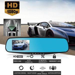 BOITE NOIRE VIDÉO 1080P HD voiture caméra Dash Cam DVR double arrièr