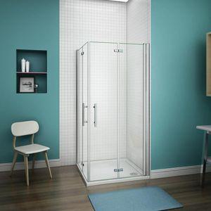 PORTE DE DOUCHE 120*70*195cm Shower Enclosure,porte De Douche Plia ...