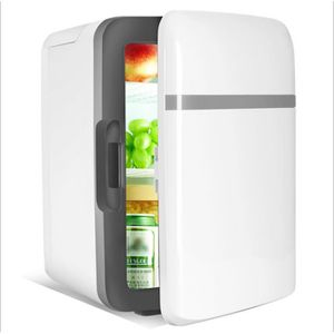 RÉFRIGÉRATEUR CLASSIQUE Mini 10L 2 en 1 Réfrigérateur Chauffage Voiture Ma