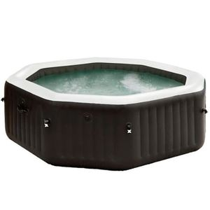 SPA COMPLET - KIT SPA Intex Spa PureSpa Jet & Bubble Deluxe 201x71 c