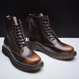 BOTTINE Bottine-boots homme personnalité chaussures de rés