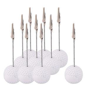 CADRE PHOTO Résine en forme balle golf bureau Décoration table