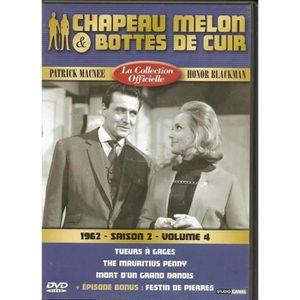 DVD SÉRIE Chapeau melon et bottes de cuir -S2 V4 -1962 -1 DV
