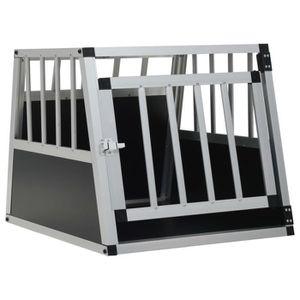 CAGE Cage pour chien 54*69*50cm cage avec une porte tra