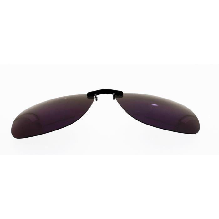 3eb1405aba713 CLIP MONTANA C13A Sur-lunettes Flashé bleu polarisé concues pour les  lunettes en métal Taille L livré avec etui