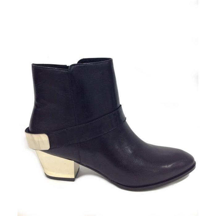 Guess Ankle Boots Femme Black