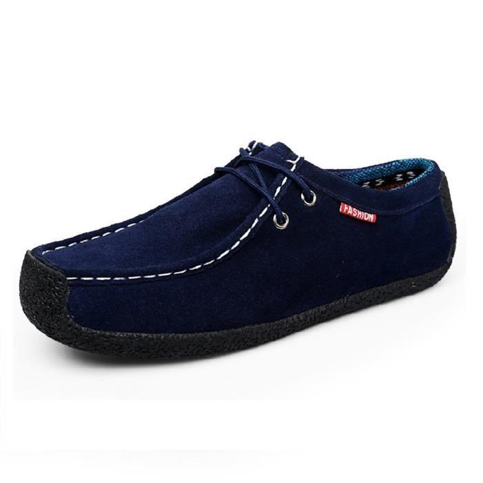 Qualité Jeunesse Meilleure Taille Simple Homme Mode Moccasins Chaussure 46 Classique Confortable Rétro Décontractées 39 Moccasin UzwqP