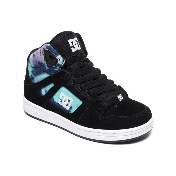 Baskets montantes fille DC Rebound - Special Edition Multi nlxQMUxZqg