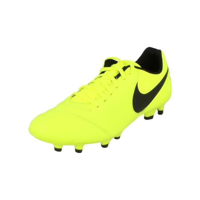 best cheap 30c02 1ef17 Nike Tiempo Genio II Leather FG Hommes Football Boots 819213 Soccer Cleats  707