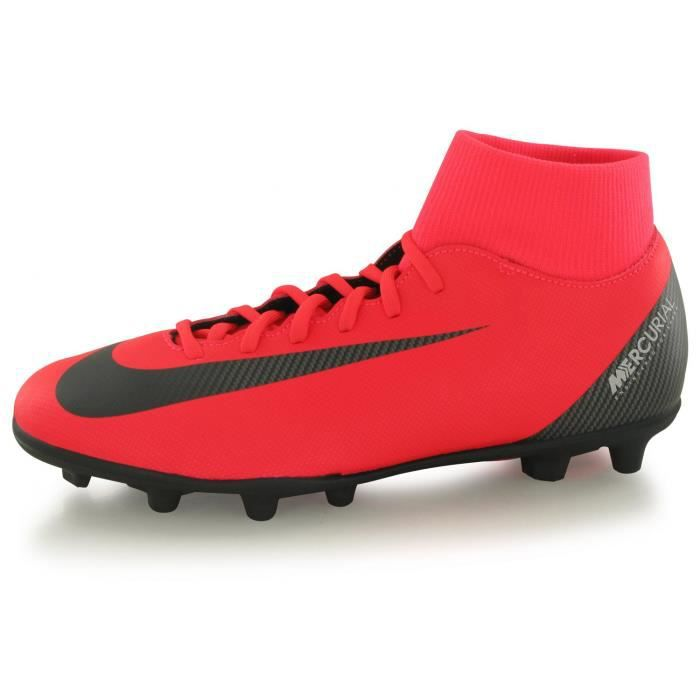 low priced 69406 4067c Chaussures Nike Superfly 6 Club Cr7 Mg Rouge Enfant