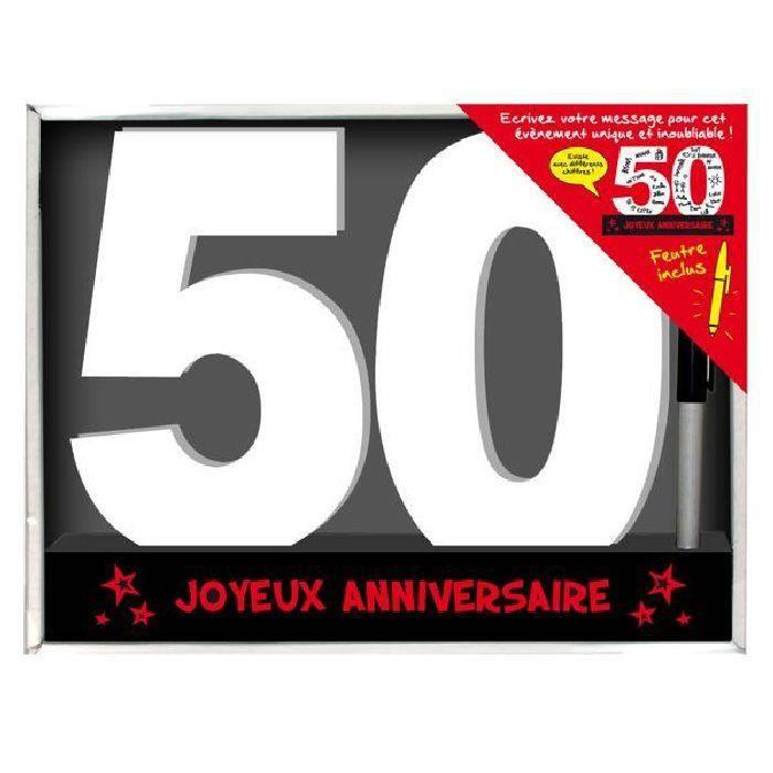 Dedicaces 3d Anniversaire 50 Ans 23 X 29 Cm Achat Vente Livre