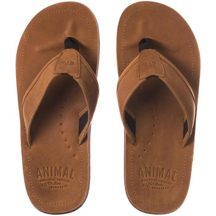 Animal Jekyl Leather Sandales