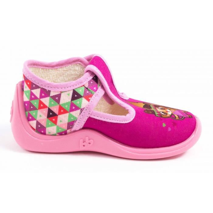 Babybotte ChaussonsFille rose