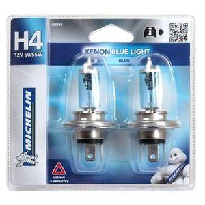 AMPOULE TABLEAU BORD MICHELIN Blue Light 2 H4 12V 60/55W