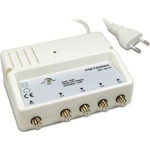 ANTENNE RATEAU METRONIC 432175 Amplificateur d'intérieur répartit