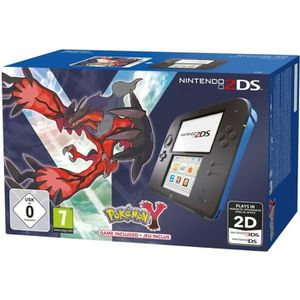 CONSOLE 2DS 2DS noir + bleu Pokémon Y