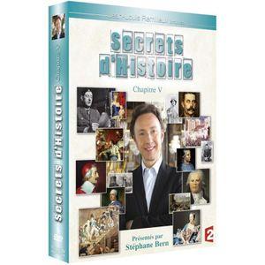 DVD SÉRIE secrets d'histoire chapitre 5 integrale