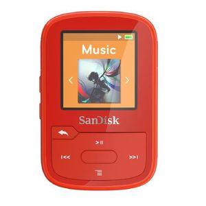 LECTEUR MP3 Lecteur MP3 Clip Sport Plus Rouge