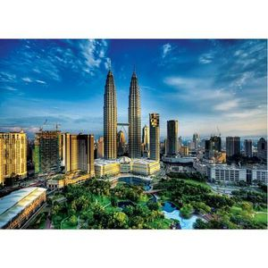 PUZZLE Puzzle 2000 pièces : Petronas Twin Towers