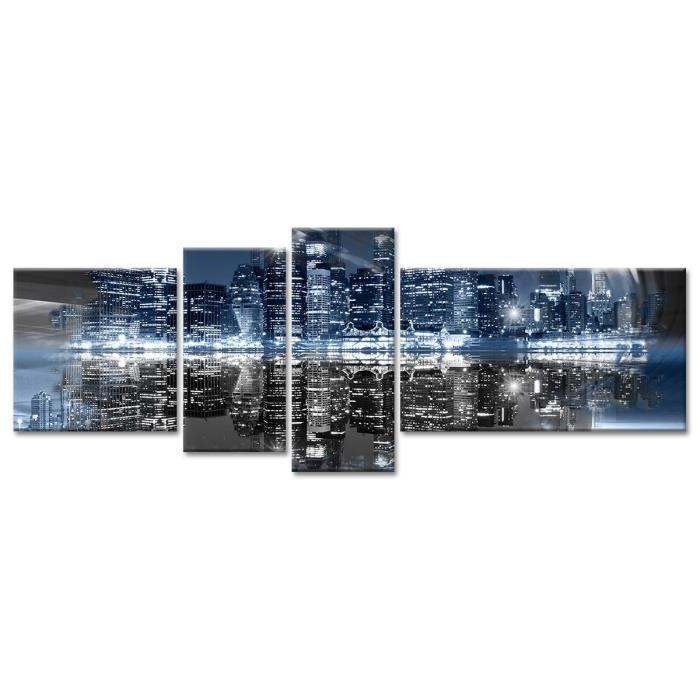 Tableau Déco Skyline New York - 160x60 cm