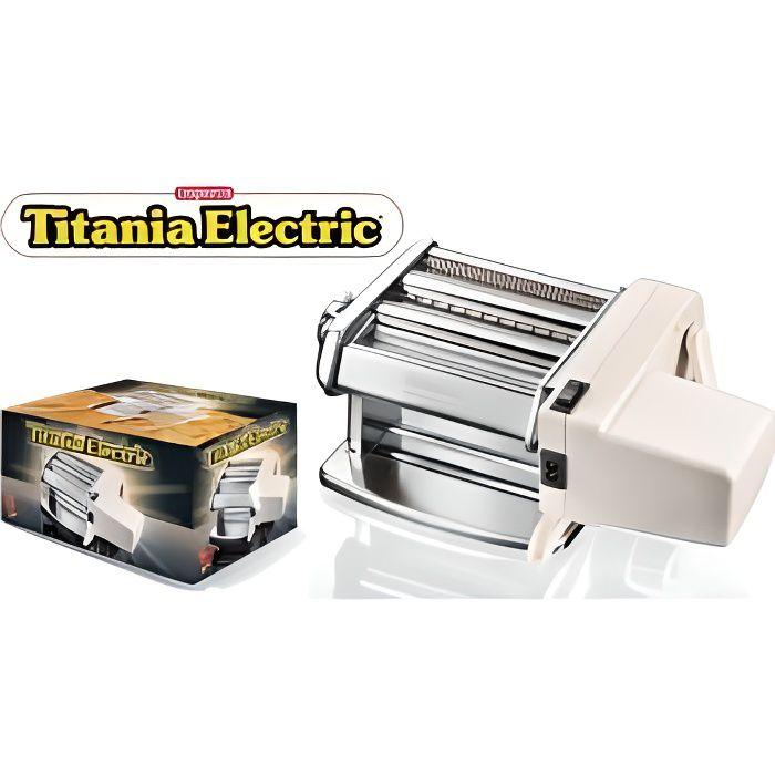 IMPERIA 6758416 Machine à pâtes électrique - Titania - Acier inoxydable