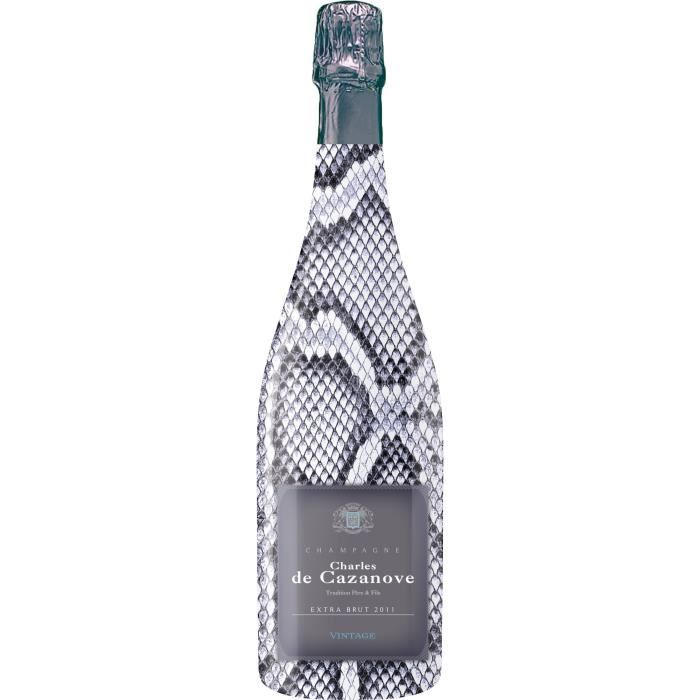 Gh martel de cazanove collection sauvage extra champagne brut blanc 75 cl