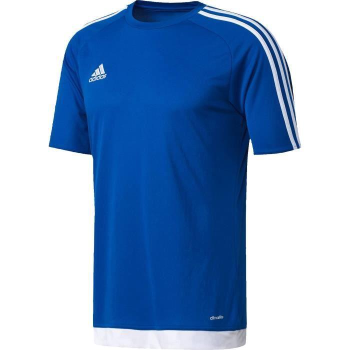 ADIDAS Maillot de football Estro - Mixte - Bleu
