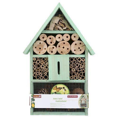 Maison bois insectes enfant eveil insolite hotel jardin - Insecte de bois maison ...