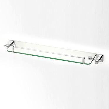 Tablette de salle de bains en verre murale LAITON - Achat / Vente ...