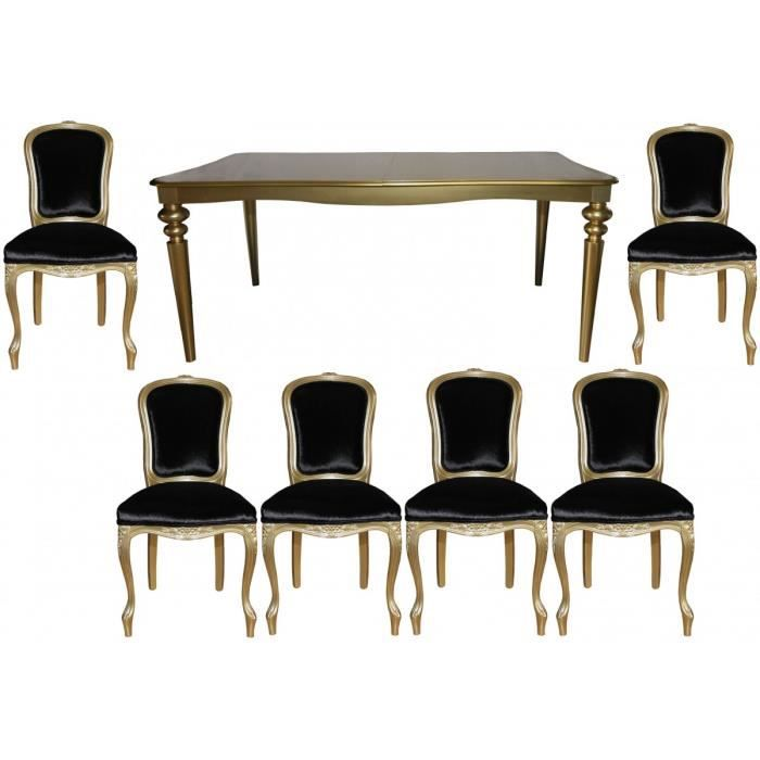Casa Padrino Baroque Luxe Cette Salle A Manger Black Gold Table