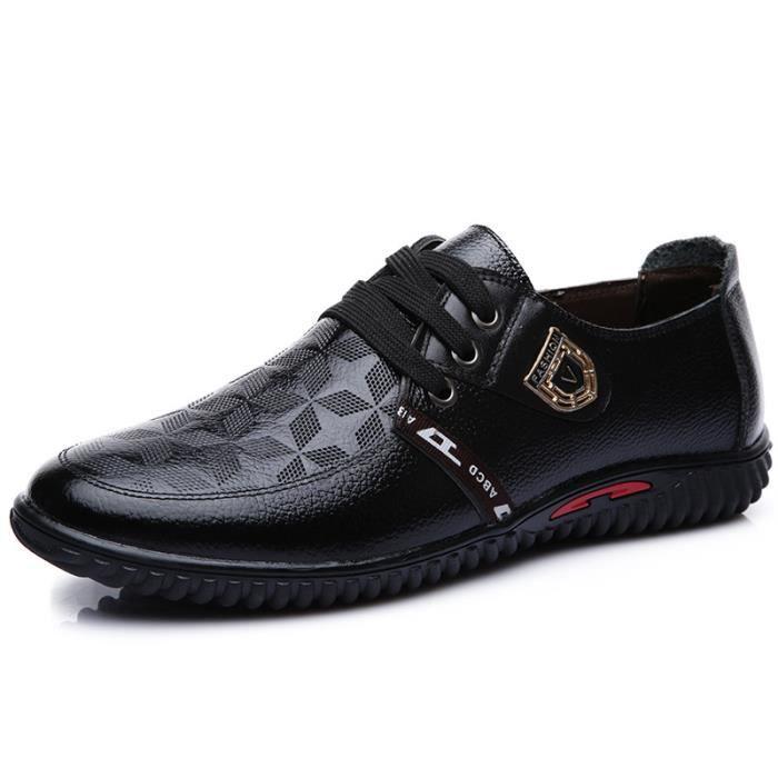 IZTPSERG Chaussures En Cuir Homme Soulier Habillées Chaussures De chaussures