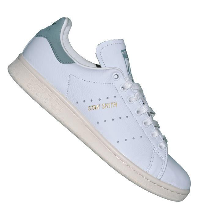 Adidas Originals Baskets Stan Smith S80025 Blanc Vert