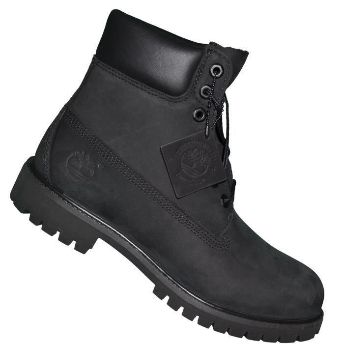 Chaussures Boots - Timberland - 6 In Premium Bt 10073 - Noir Noir