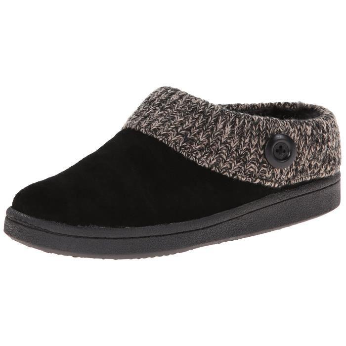 Clarks tricot féminin mule pantoufle éraflure OHD6E