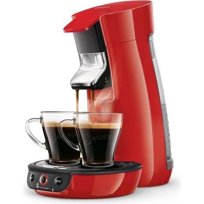MACHINE À CAFÉ PHILILIPS SENSEO VIVA Café HD6563/81 0,9 L - Rouge