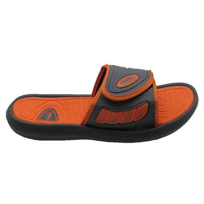 Air Men's Comfortable Shower Beach Sandal Slippers W-adjustable Strap In Classy Colors SSK2K Taille-43 VEZ4QbJr
