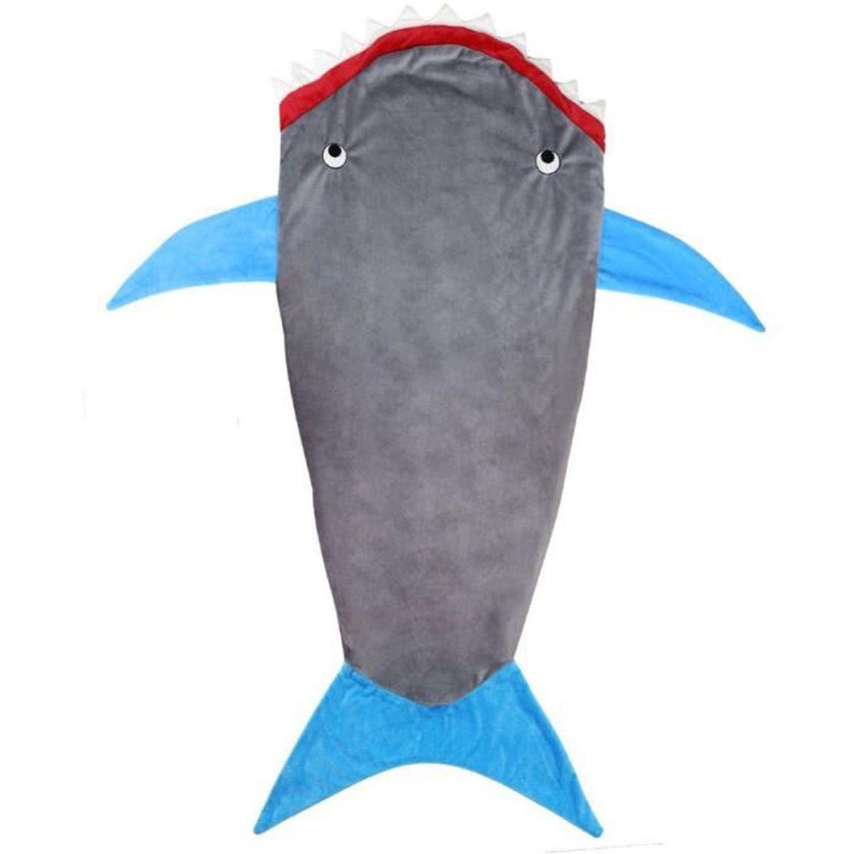 Flanelle De Requin Couvertures Couchage Enfant Sac Pour Garçon PqPgrwF