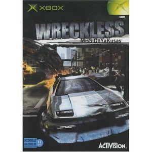 JEUX XBOX XBOX Wreckless : Mission Yakuzas