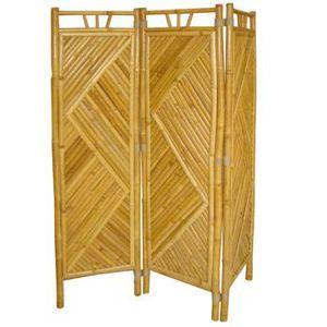 PARAVENT Paravent 3 pans bambou
