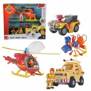VOITURE - CAMION Sam Le Pompier - Fireman Sam - Véhicule de 3 Pièce