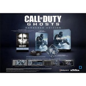 JEU PS3 CALL OF DUTY : GHOSTS - HARDENED EDITION [IMPOR…