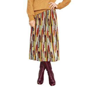 JUPE Jupe longue plissé patch JIMI Multicolor