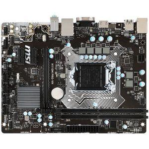 CARTE MÈRE MSI Carte mère - H110M PRO VH - 1151 Micro ATX - I