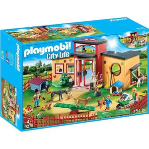 FIGURINE - PERSONNAGE PLAYMOBIL 9275 - City Life - Pension des Animaux -
