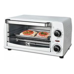 FOUR À PIZZA Four multifonctions a pizza Mini blanc 9 L Minuteu