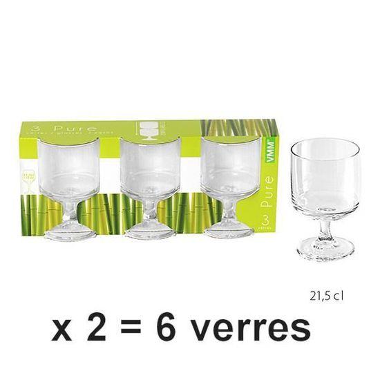 KB8 Verres à pied x 12 à vin ballon 19 5 cl PREMIER* Aucune