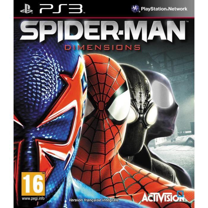 Spiderman dimensions jeu console ps3 achat vente jeu - Jeux de spiderman 7 ...