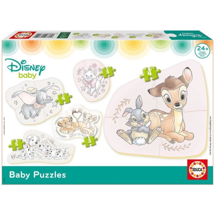 EDUCA - Disney Animaux - Baby Puzzles