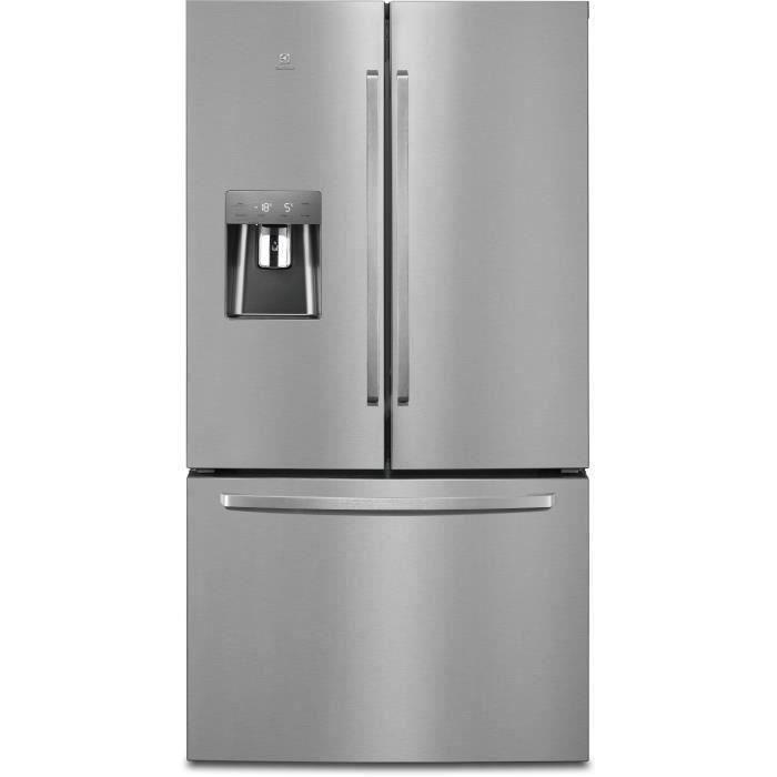 ELECTROLUX EN6086MOX Réfrigérateur multiportes 536 L (417 + 119 L)-Froid total no frost-A++-L 91,2 x
